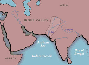 WHI Study Resources Mrs Fortunatos World History I - World map indus river